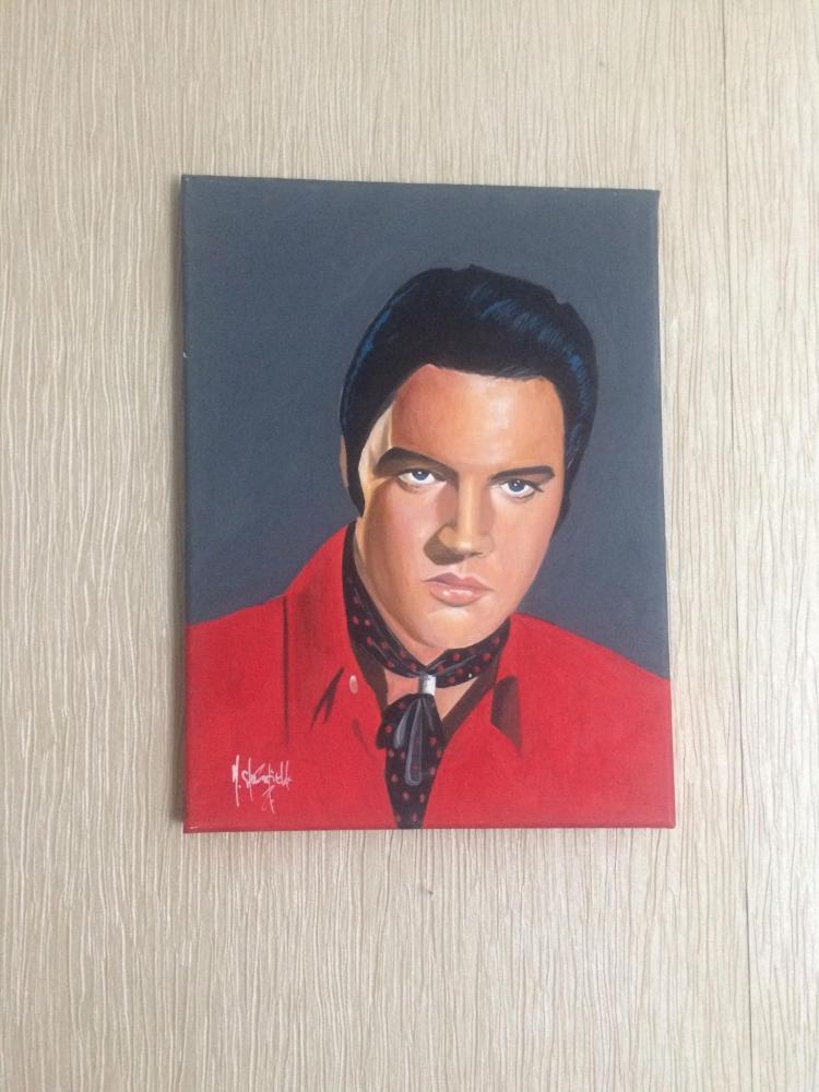Elvis Presley by mark9826uk
